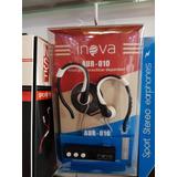 Auricular Inova Bluettooth Sport Wireless Manos Libres
