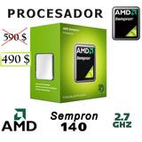 Procesador Amd Sempron 140 2.7 Ghz +cooler