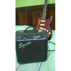 Guitarra Squier By Fender Series Strat Con Amplificador