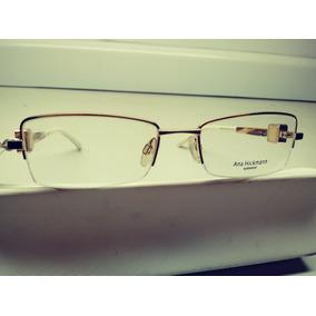88be5bc34 Armação Óculos Grau Ana Hickmann Ah1244- 08a 51x18 - Ref 90