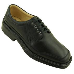 Sapato Masculino 904 Em Couro Floater Preto Doctor Shoes