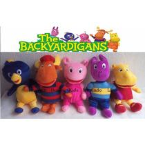 Pelúcia Backyardigans Pablo, Tyrone, Uniqua, Austin Ou Tasha