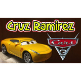 Cruz Ramirez Cars 3 Metalico Original Disney Store