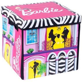 2 Casa Porta Tudo Barbie - Fun