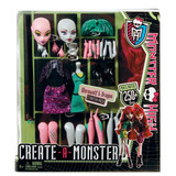 Monster High Crea Tu Monstruo Werewolf & Dragon