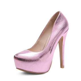 Sapato Feminino Salto Alto 109431 Grande Até 44 Plus Size