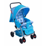 Carrinho De Bebê Berço E Passeio Azul Baby Style