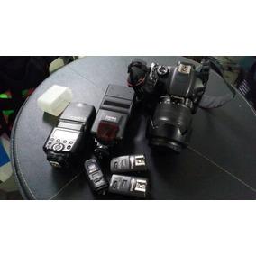 Canon T2i + Accesorios