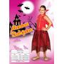 Fantasia Infantil Vampira Sidnyl Carnaval