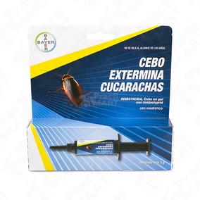 Paquete 3pz Bayer 5g Gel Extermina Cucarachas Insecticida