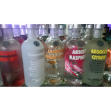 Vodka Absolut Saborizados 750mm Super Oferta!!!