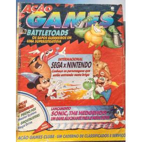 Revista Ação Games - Número 4 - Rara