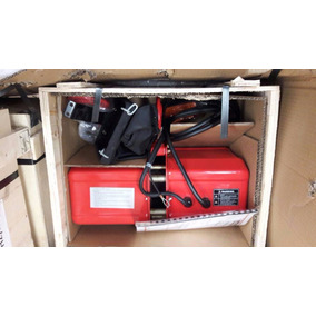 Polipasto Electrico De Cadena 1 Ton Con Gancho De Suspension