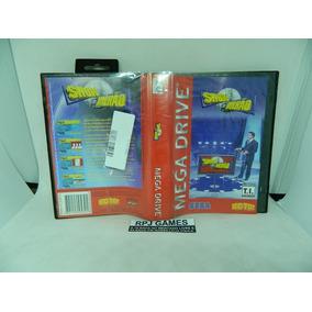 Show Do Milhão Original P/ Mega Drive C/ Caixa E Manual Loja
