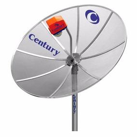 Antena Parabólica Century 1.50mt Monoponto Sem Receptor - 14
