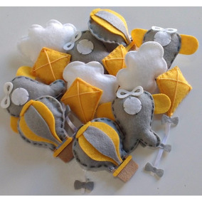 Promoção 50 Chaveiros Balão Avião Nuvem Pipa Lembrancinha
