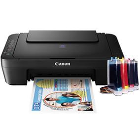 Impresora Multifuncional Canon E402 Sistema Continuo Adaptad
