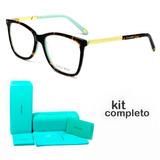 Armação Oculos De Grau Tiffany   Co. Tf2150-b 8134 Kit Azul e8fc6c9f30