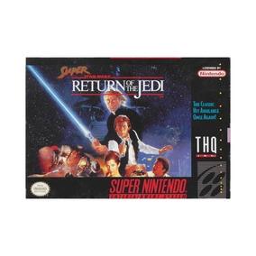 Super Star Wars:return Of The Jedi Snes, Super Nintendo