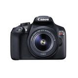 Canon Cámara Digital Eos Rebel T6 + Kit Con Lente 18-55mm