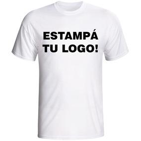Remera Estampada - Publicitarias - Eventos - Tu Diseño/logo
