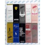 Lote Com 11 Perfumes Contratipos De 50ml + 10 Amostras Sugoi