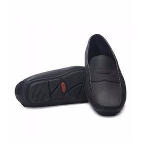 Zapato Puchetty Alicante Negro Cuero Hombre