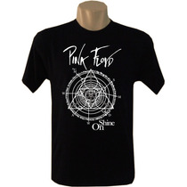 Camiseta Masculina Bandas Rock Pink Floyd Pf65