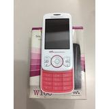 Sony Ericsson W100 Walkman Funciona Somente Vivo - Usado