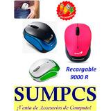 Mouse Genius Con Bateria Recargable Micro Traveler 9000r