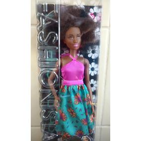Boneca Barbie Fashionistas 2017 Negra Black Power N° 59