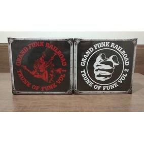 Grand Funk Railroad Trunk Of Funk Vol 1 E Vol 2 - Box 12 Cds