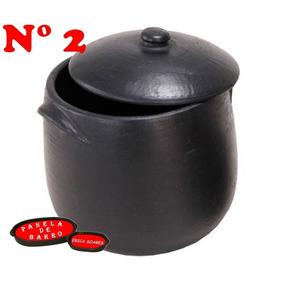 Kit Caldeirão De Barro Numero 2 E Numero 3. Peças Originais.