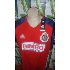 Jersey adidas Chivas Rayadas Guadalajara 2016 Visitante M/c