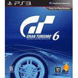 Gran Turismo 6 Ps3 Digit Entrega Inmediata!!