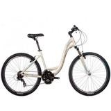 Bicicleta 26 Soul Flow 21v Alumínio Bege (quadro 17)