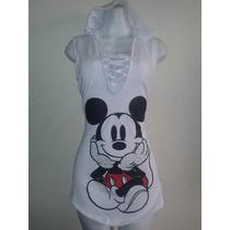 Vestido Informal / Bluson / Blusa Mickey Mayor Y Detal