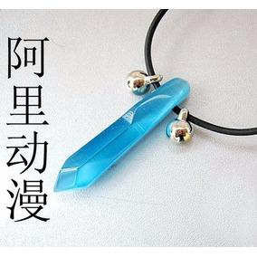 Arg Increible Collar De Hokage Piedra Azul Naruto Shippuden