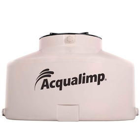 Caixa D´agua Limpa 500l Com Tampa Click - Acqualimp