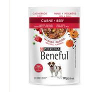 Beneful Sobre Cachorro Carne Arroz Salvaje Y Zanahora 100gr.