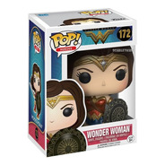 Funko Pop Wonder Woman 172 Dc Justice League Orig Scarlet
