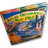 Atlas Geográfico Ruy Díaz Argentina Y El Mundo