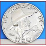 Dante42 Moneda Un Characato De Oro Arequipa 1985