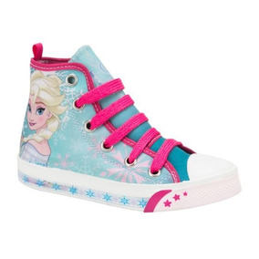 Con Luces Tenis Casual Bota Frozen 9076 Id-147772