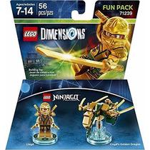 Lego Dimensions Ninjago Lloyd Dorado