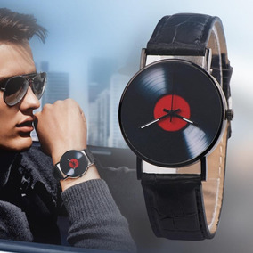 Reloj Caratula Disco De Vynil Retro Unisex