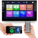 Mp5 Automotivo Player Mp3 Multimídia Bluetooth Usb Fm