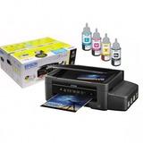 Impresora Epson L395 Multifuncional Wifi Tinta Continua