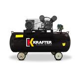 Oferta Compresor De Aire 200 Litros 3 Hp Krafter - Nuevo
