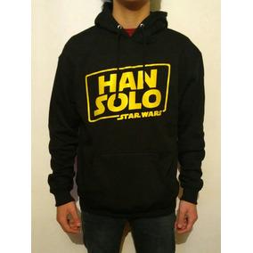 Poleron Canguro Han Solo Una Historia Star Wars / Unisex